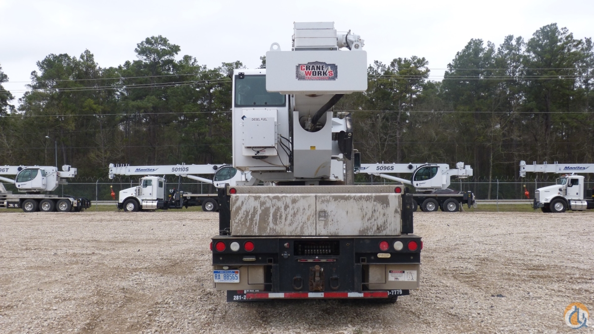 Manitex 5096S mounted to 2012 Kenworth T800 tri-drive chassis Crane for Sale or Rent in Houston Texas on CraneNetwork.com