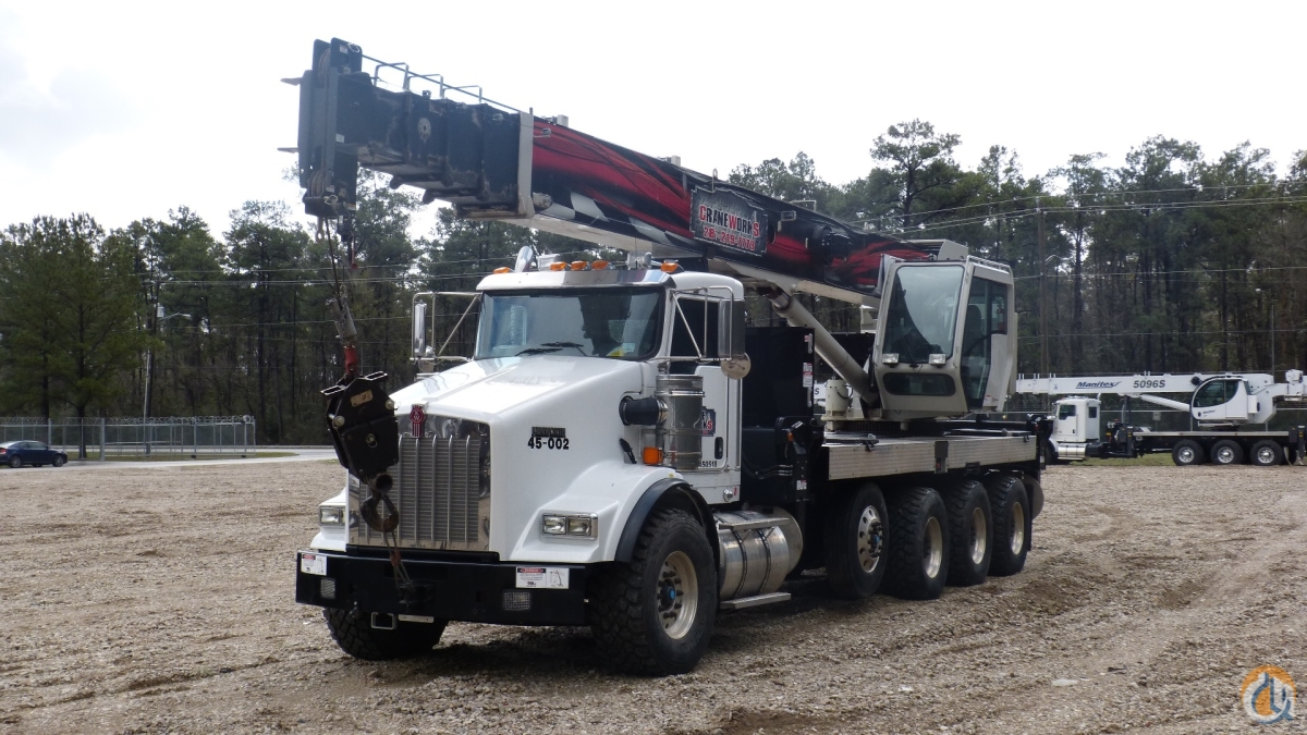 National NBT45-127 mounted to 2013 Kenworth T800 tri-drive chassis Crane for Sale or Rent in Branchburg New Jersey on CraneNetwork.com