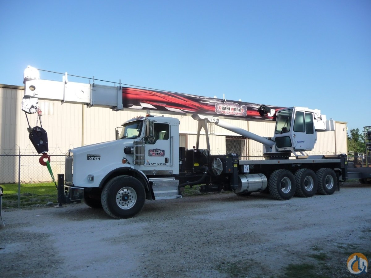 2012 Manitex TC5096S Crane for Sale in Branchburg New Jersey on CraneNetwork.com