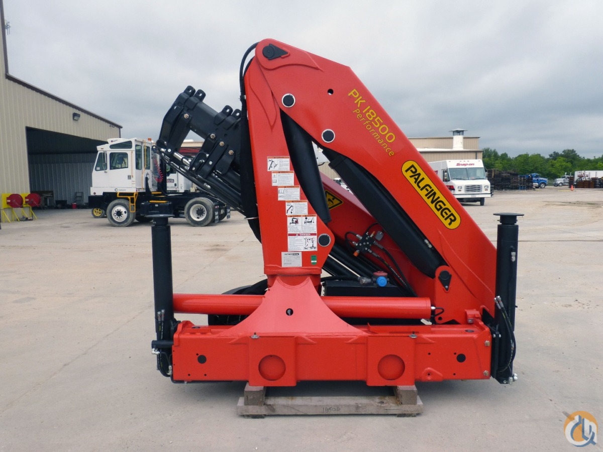 Sold New 2014 Palfinger PK 18500 Performance knuckle boom Crane for  in Houston Texas on CraneNetwork.com