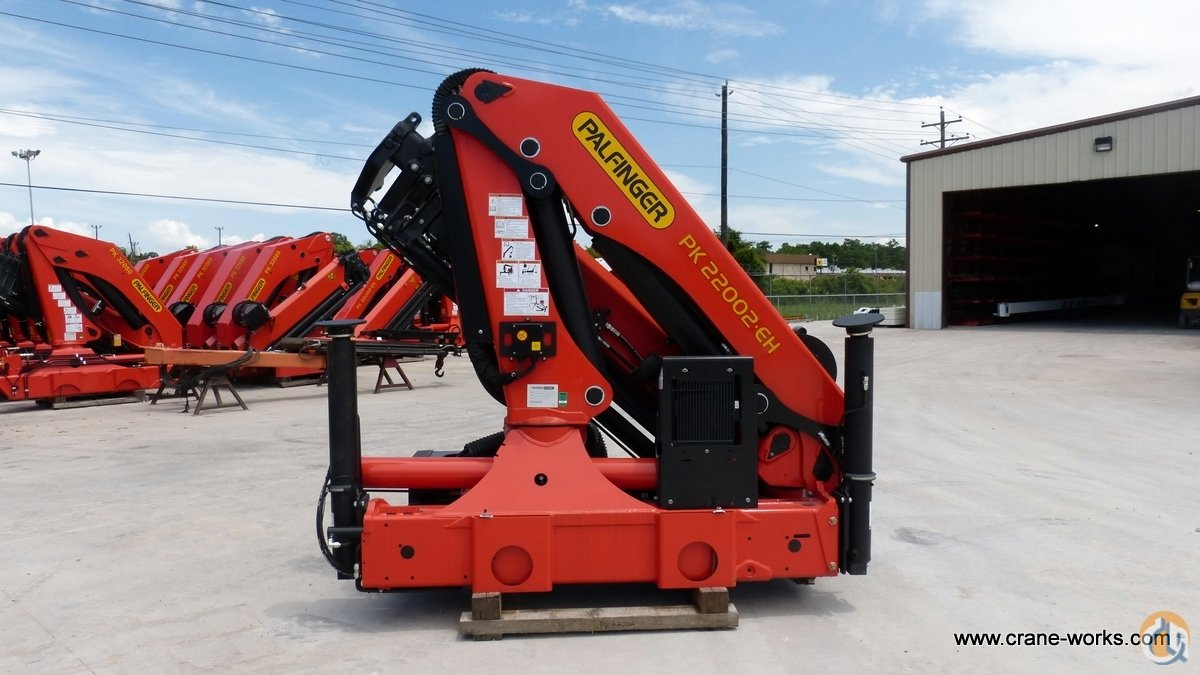 Sold New 2014 Palfinger PK 22002-EH D knuckle boom unmounted Crane for in  San