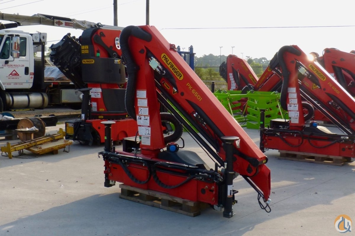 Sold New Palfinger PK 6501 High Performance knuckle boom unmounted Crane for  in Houston Texas on CraneNetwork.com