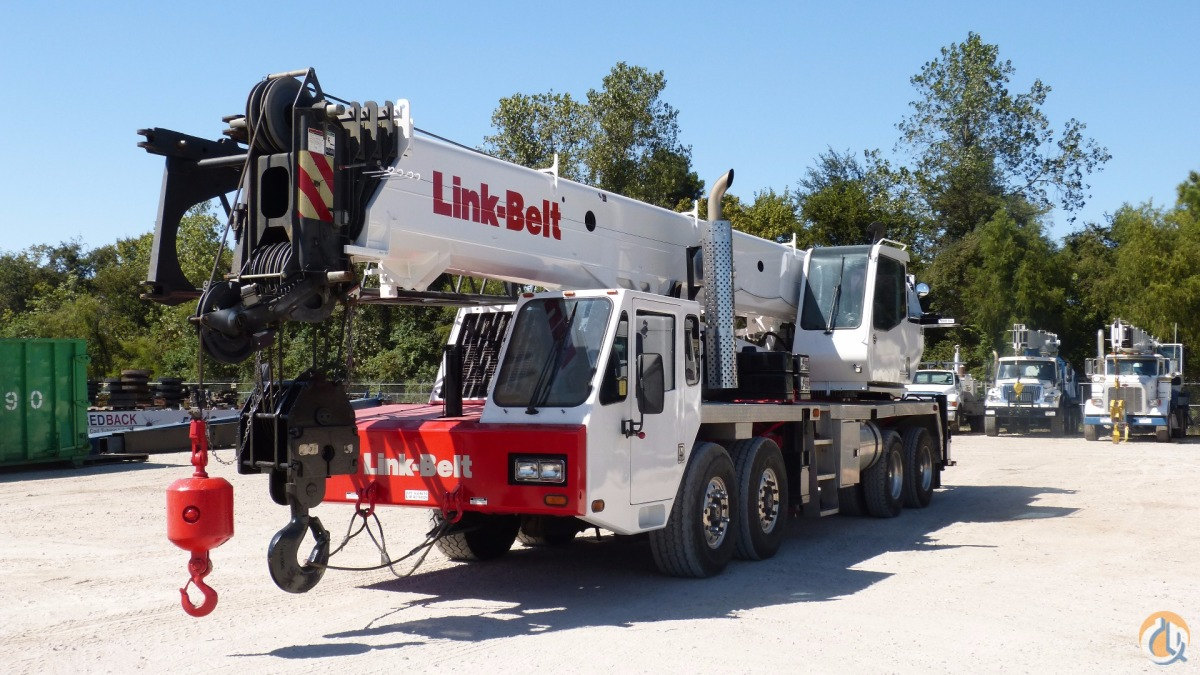 Used Jib Cranes Houston : Sold used linkbelt htc crane for in houston texas on