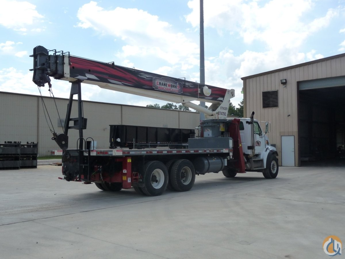 Terex BT 4792 mounted to 2008 Sterling LT7501 chassis Crane for Sale or Rent in Branchburg New Jersey on CraneNetworkcom