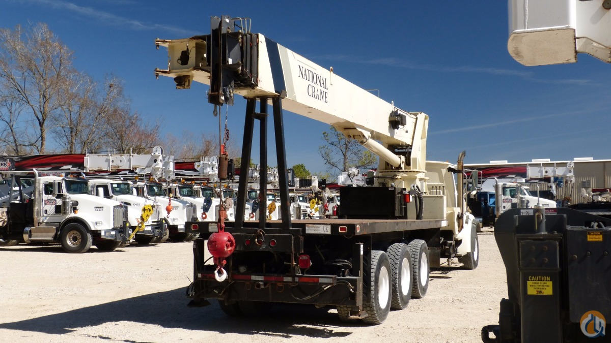 Used Jib Cranes Houston : Sold used national h boom truck crane for in houston