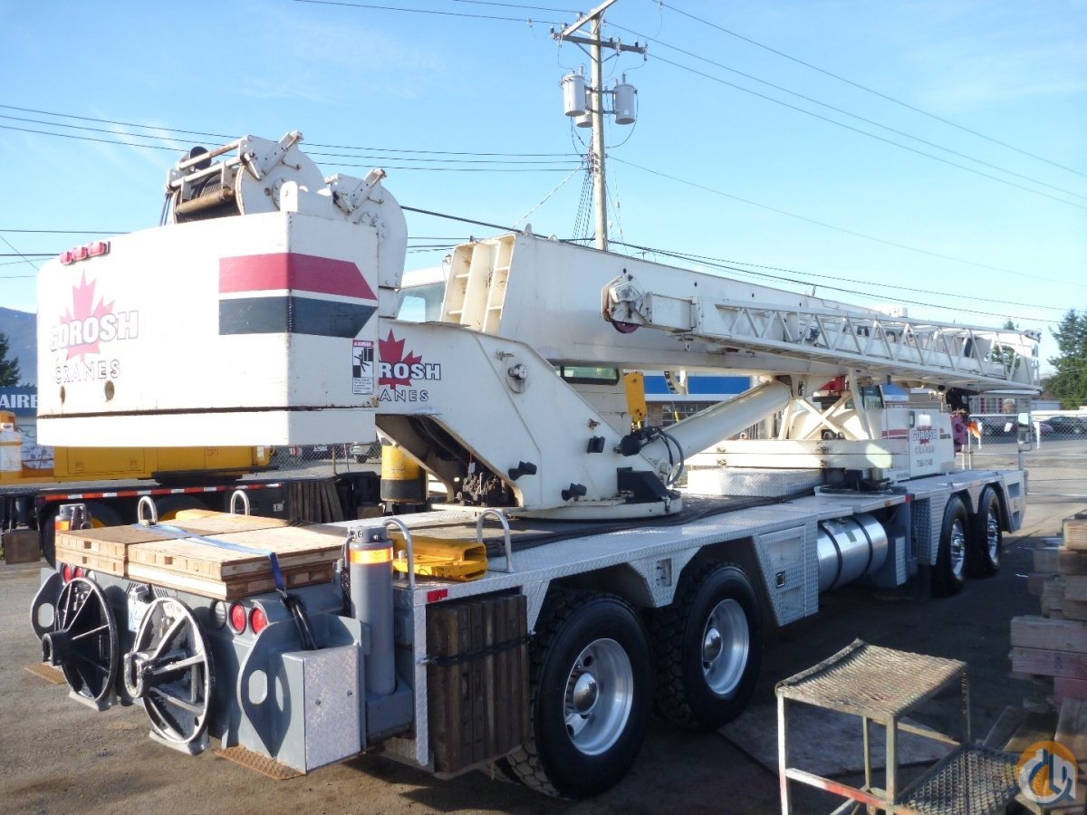 T-560 Terex Crane for Sale in Nanaimo British Columbia on CraneNetwork.com