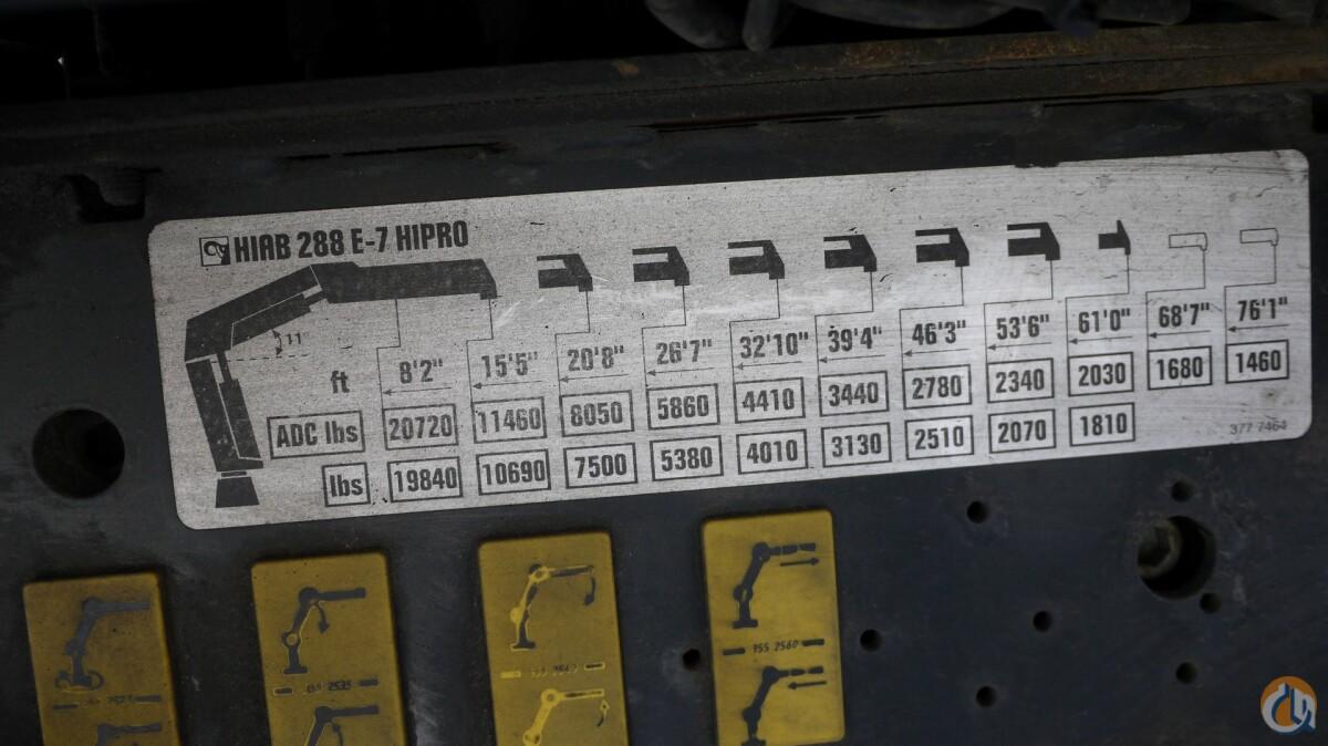 Sold 2004 HIAB 288E-7 HIPRO; 10.5 TON UNMOUNTED ...