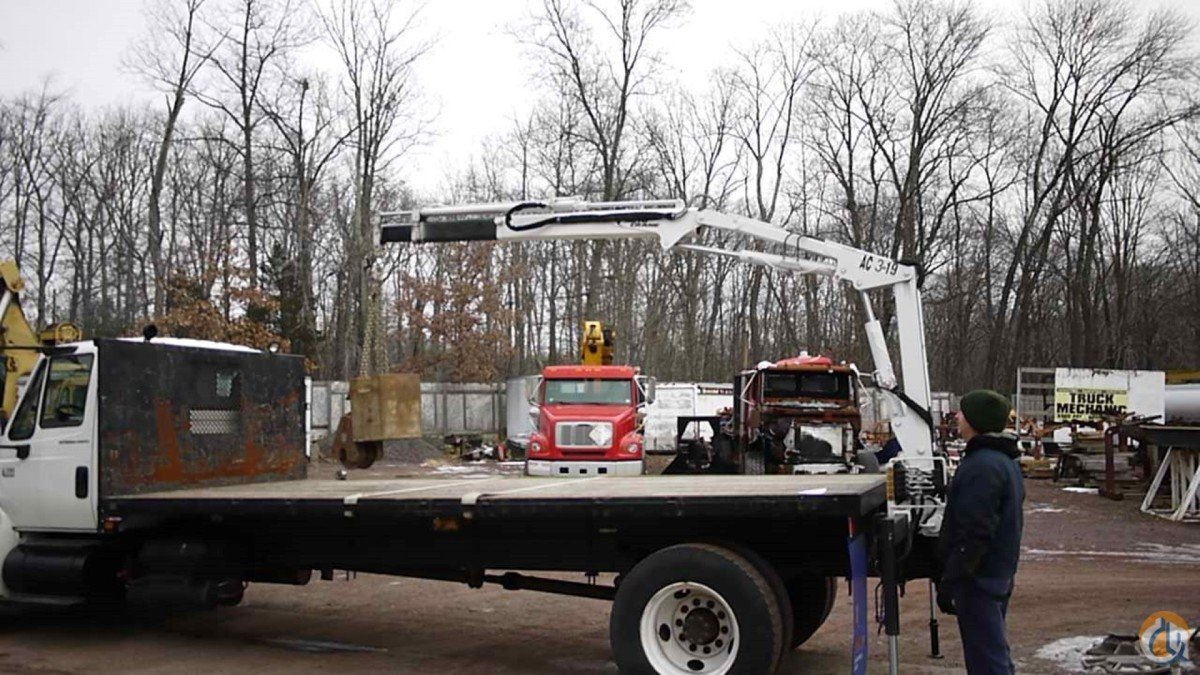 INTERNATIONAL AUTO CRANE KNUCKLEBOOM CRANE TRUCK Crane for Sale in Hatfield Pennsylvania on CraneNetwork.com