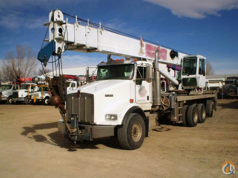 Used Manitex 5096S boom truck mounted to 2007 Kenworth T800 chassis Crane for Sale in Houston Texas on CraneNetwork.com
