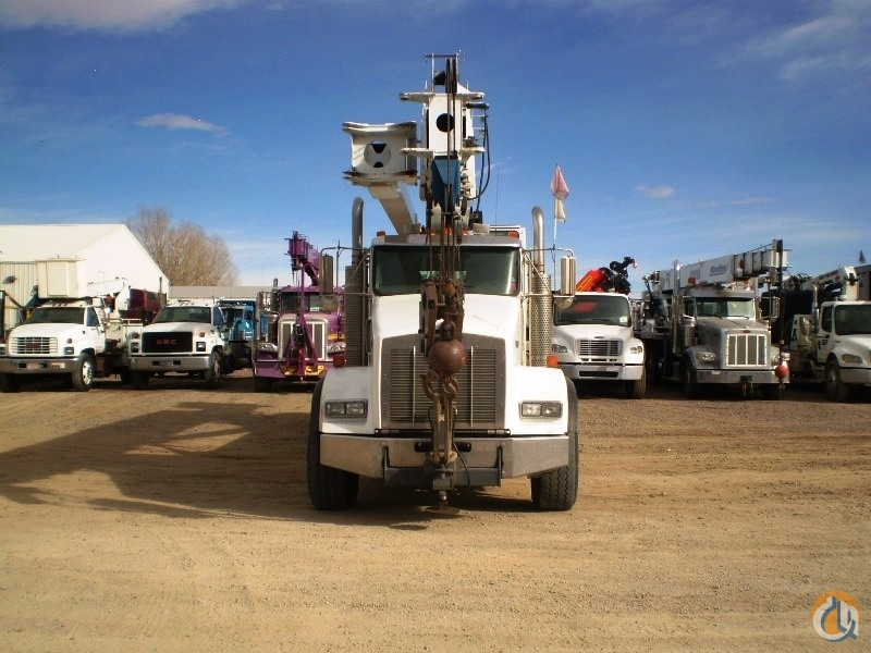 Used Manitex 5096S boom truck mounted to 2007 Kenworth T800 chassis Crane for Sale in Brighton Colorado on CraneNetworkcom