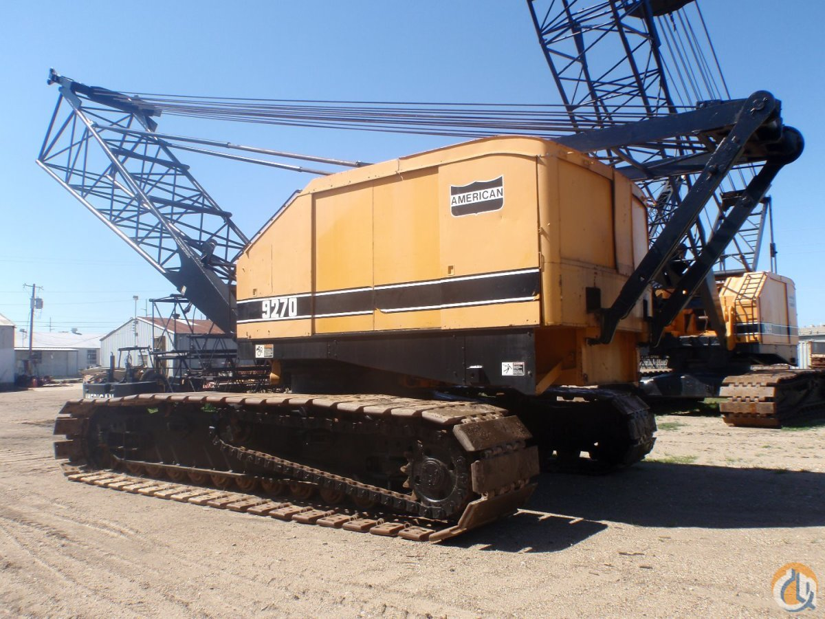 1980 American 9270 Crane for Sale in Garland Texas on CraneNetworkcom