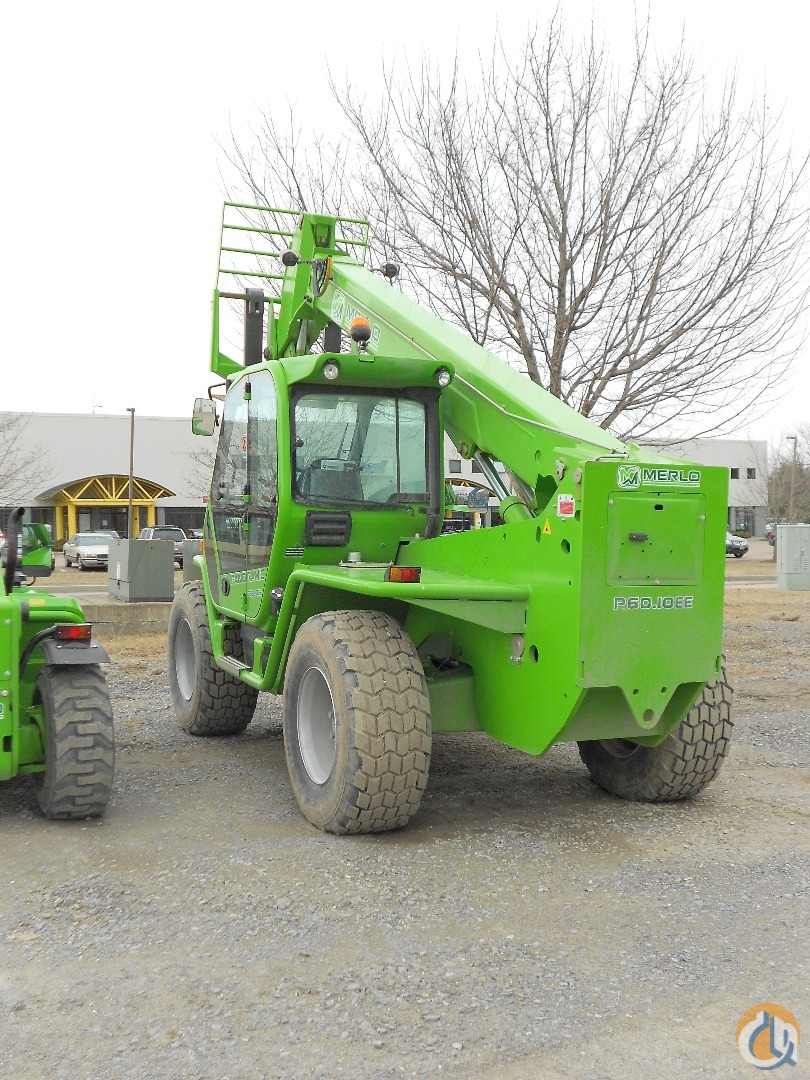 2013 Merlo P60.10 Crane for Sale in Williston Vermont on CraneNetwork.com