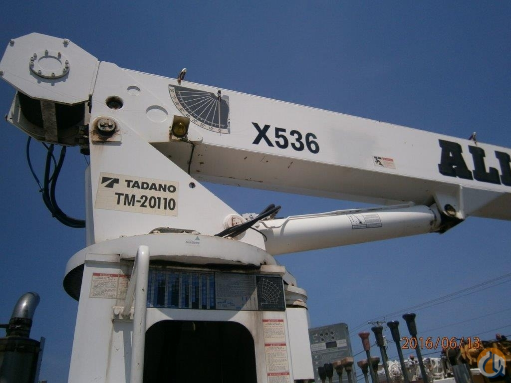 Sold 2007 TADANO TM20110 Crane for  in North Charleston South Carolina on CraneNetwork.com