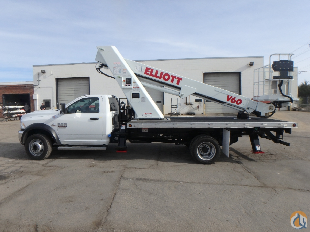 V60F aerial lift 2020 Ram 5500 4x2 Crane for Sale in Hodgkins Illinois on CraneNetwork.com