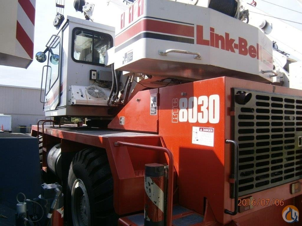 Link-Belt RTC-8030 II For Sale Crane for Sale in Mobile Alabama on CraneNetwork.com