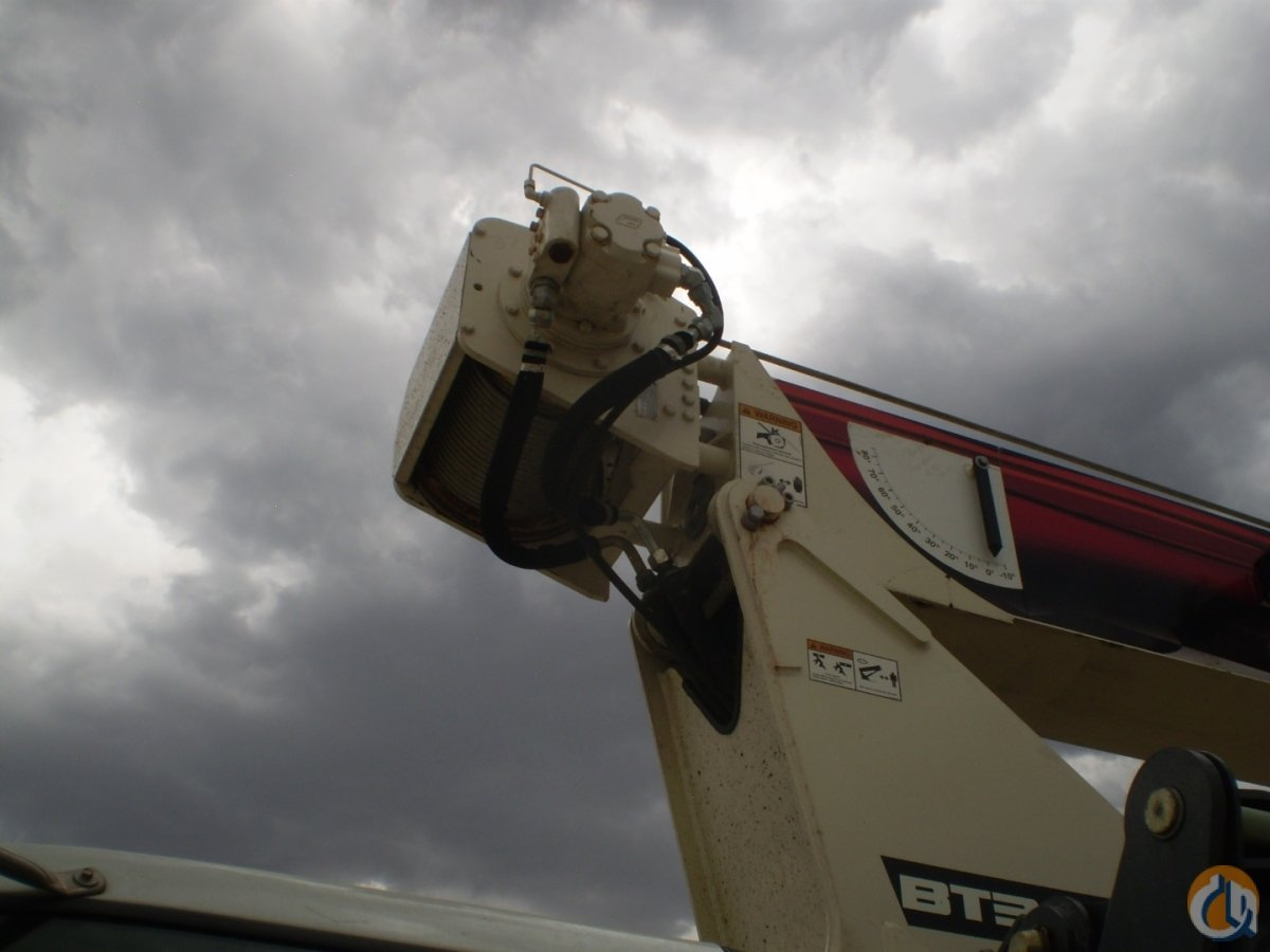 Terex BT 3870 mounted to 2013 Ford F-750 chassis Crane for Sale or Rent in Brighton Colorado on CraneNetwork.com