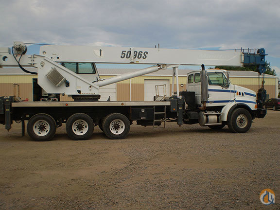 Used Manitex 5096S Crane for Sale in Denver Colorado on CraneNetworkcom