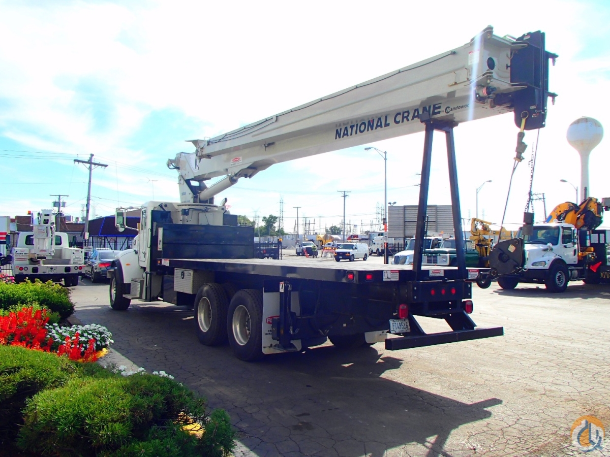 Sold National 9103A 26 Ton Crane 2015 Peterbilt Model 348 Tandem axle Truck Crane for  in Lyons Illinois on CraneNetwork.com