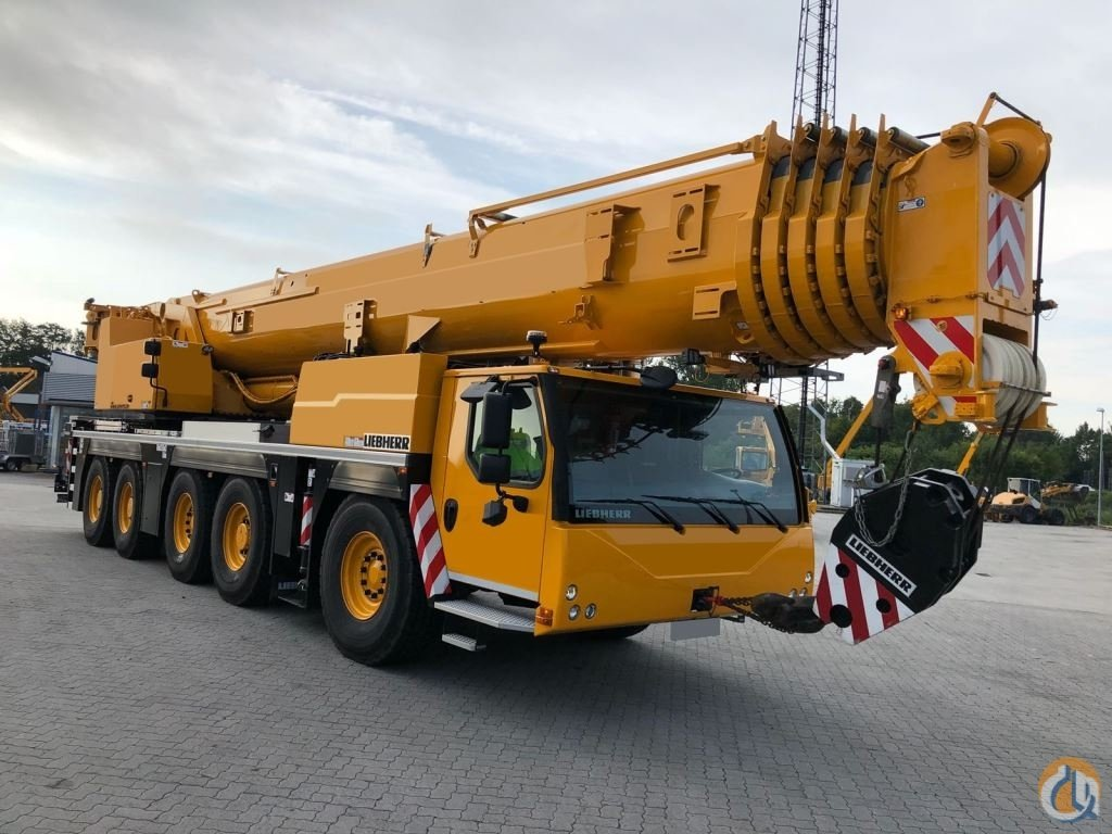 2016 Liebherr LTM 1250-6.1 Crane for Sale in Houston Texas on CraneNetwork.com