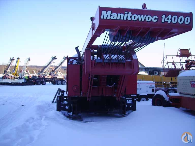 Manitowoc 14000 For Sale Crane for Sale in Madison Wisconsin on CraneNetwork.com