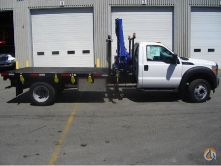 NEW PM 6023 KNUCKLE BOOM on NEW 2016 FORD F550 TRUCK Crane for Sale in Toronto Ontario on CraneNetworkcom