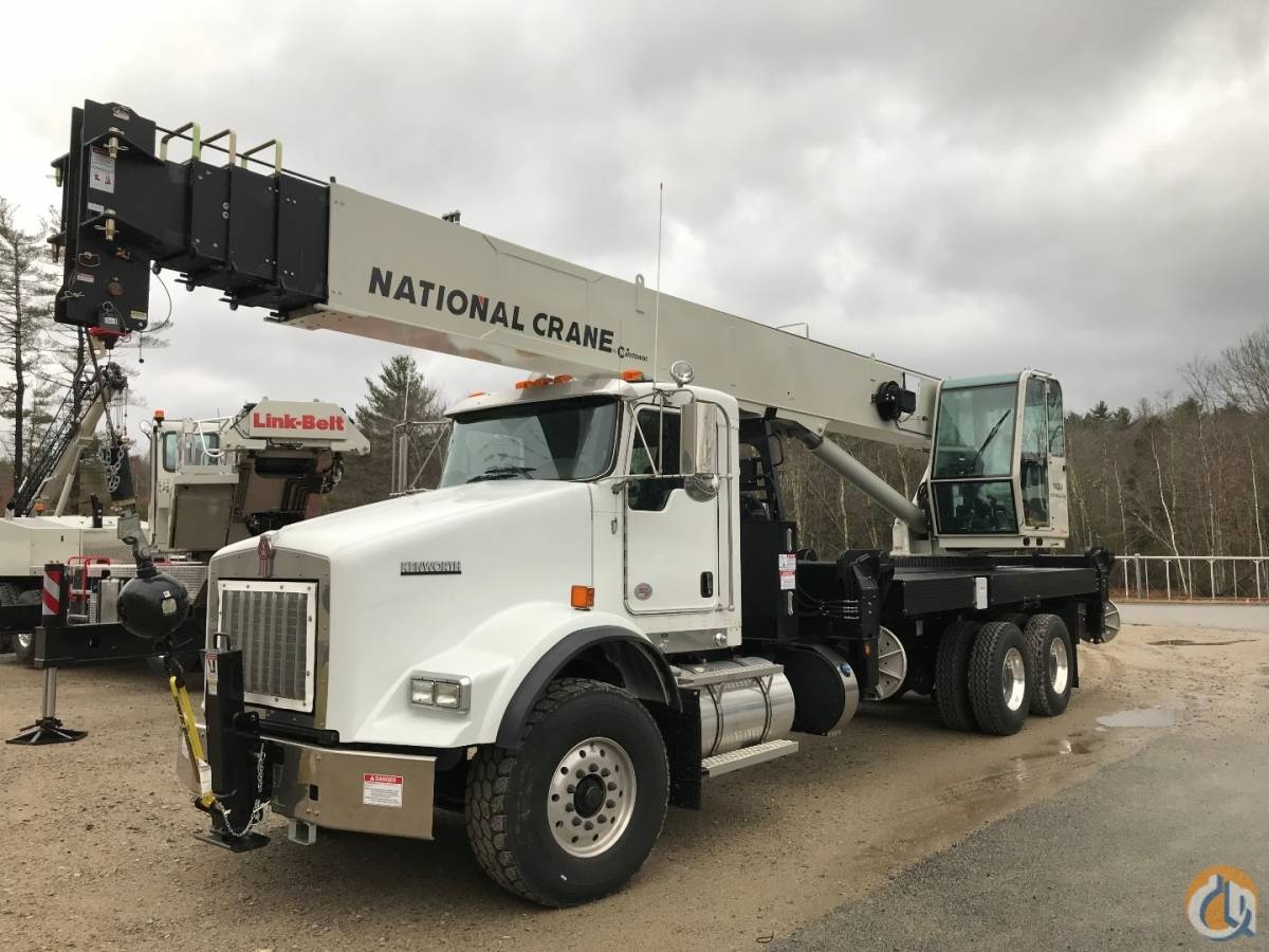 Kenworth T-800 Chassis Crane for Sale in Oxford Massachusetts on CraneNetwork.com