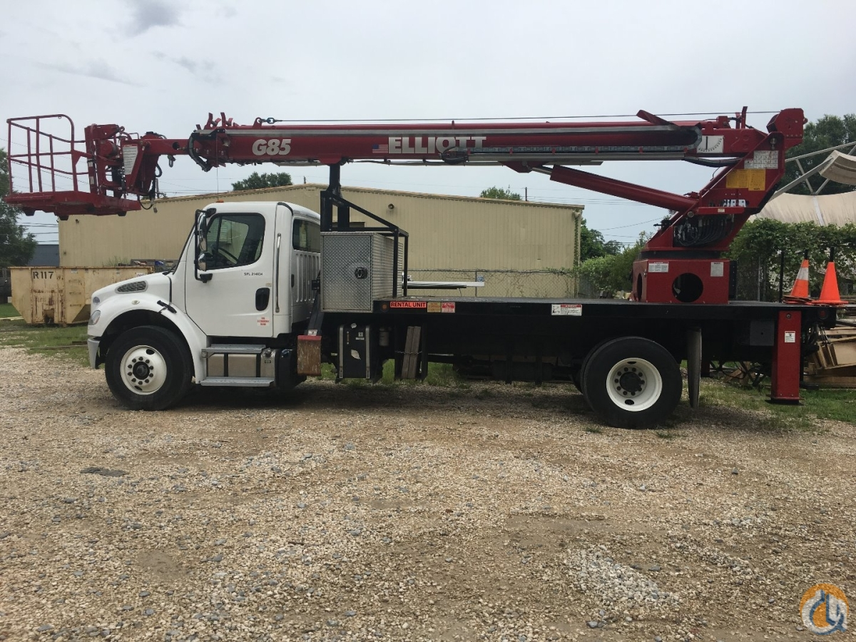 Elliot G85R on a 2018 Freightliner M2 106 6x4 Crane for Sale in Hammond Louisiana on CraneNetwork.com