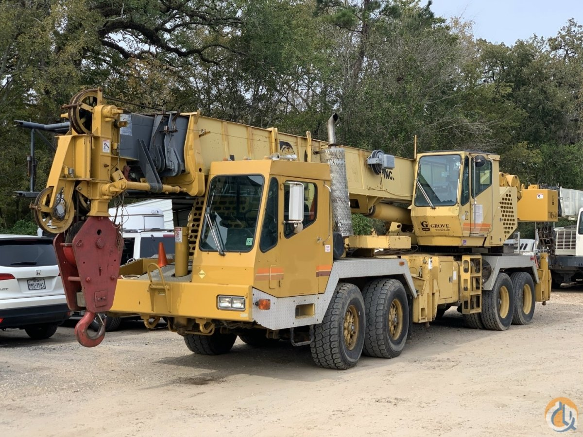 1998 GROVE TMS640 Crane for Sale in Houston Texas on CraneNetwork.com