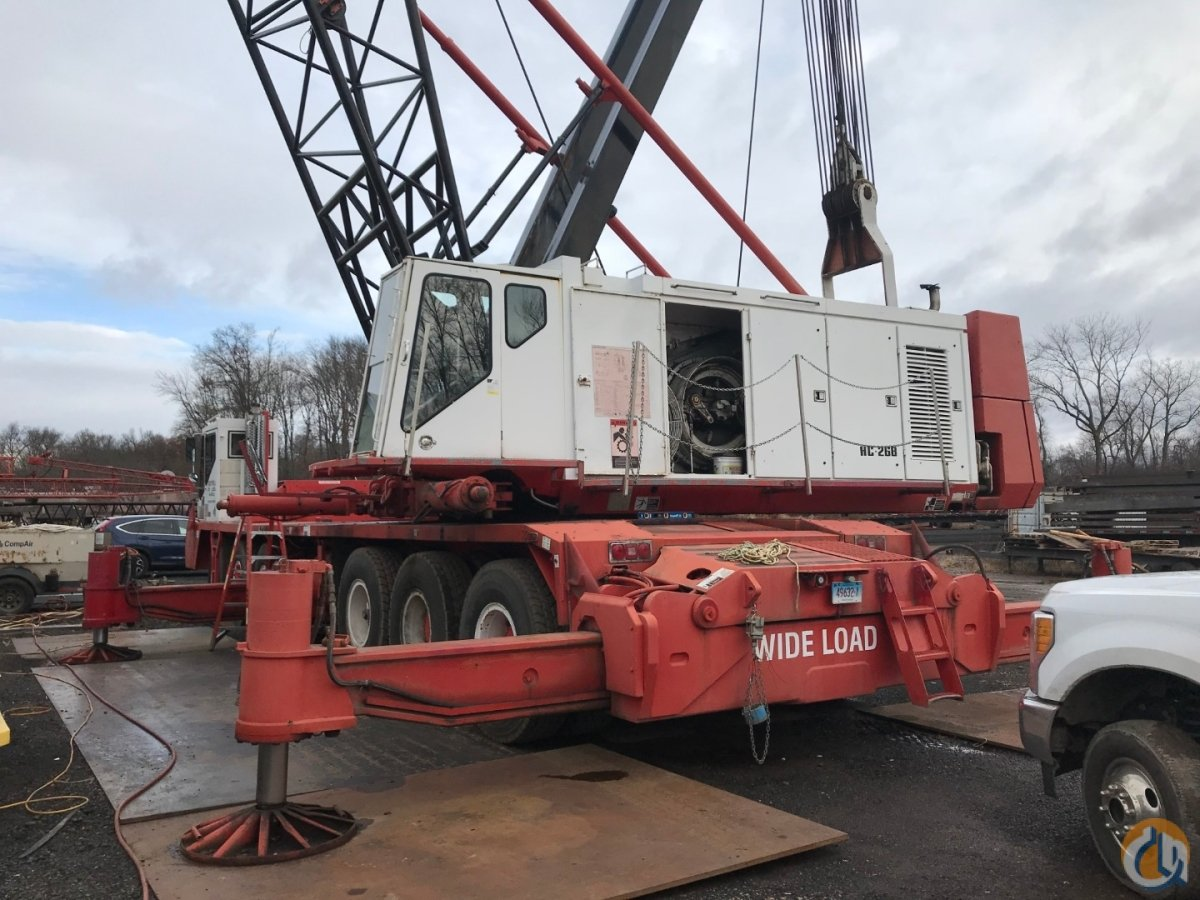 One and Only Link-Belt HC-268 For Sale on the Internet Crane for Sale in Oxford Massachusetts on CraneNetwork.com