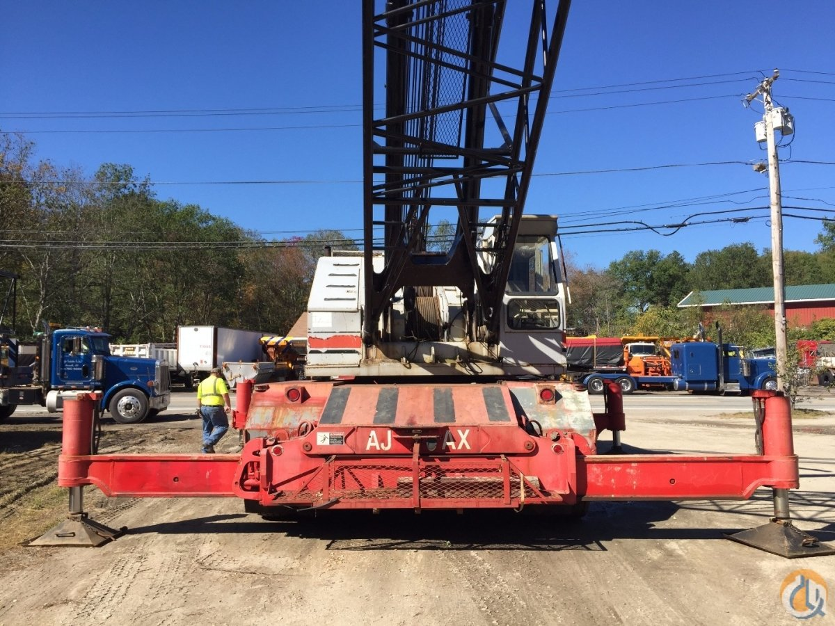 Link-Belt HC238 Truck Mounted Lattice Boom Cranes Crane for Sale  in Oxford  Massachusetts  United States 216705 CraneNetwork