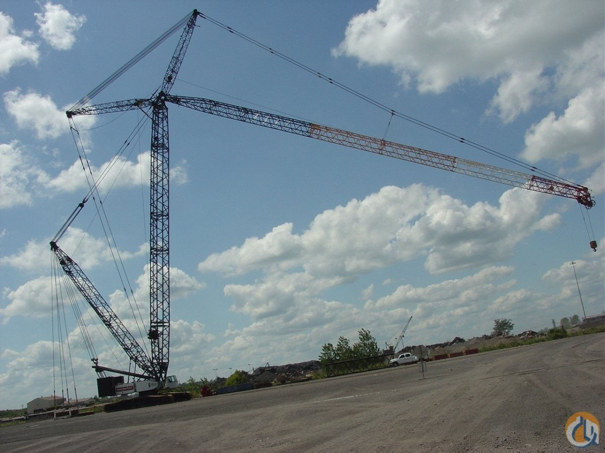 1995 Demag CC 2600 / 500 ton crawler crane Crane for Sale in