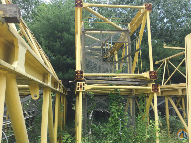 Tower Crane Ny : Sold well priced luffing tower crane for in new york
