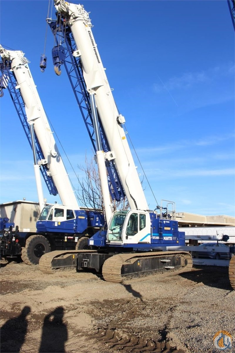 2018 TADANO GTC600EX Crane for Sale or Rent in Sacramento California on CraneNetwork.com