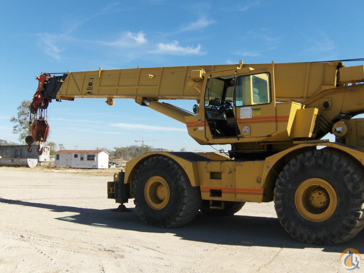 1994 Grove Rt 760 60 Ton Rough Terrain Crane Crane For