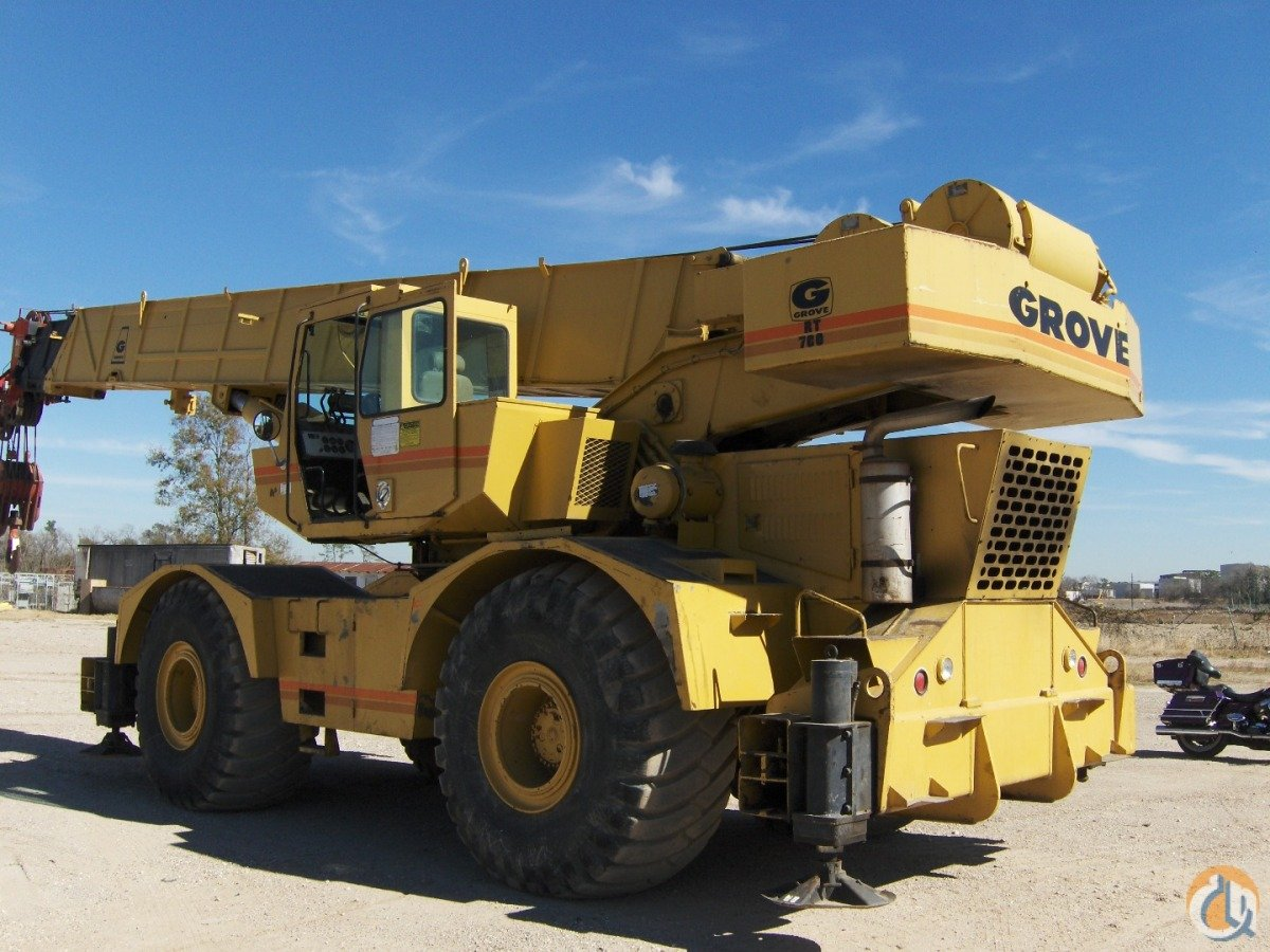 1994 grove rt 760 60 ton rough terrain crane crane for sale on rh cranenetwork com