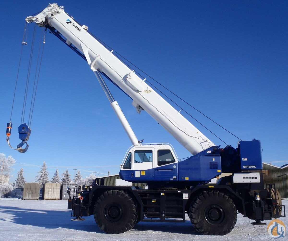 2013 GR1000XL-2 Crane for Sale on CraneNetworkcom