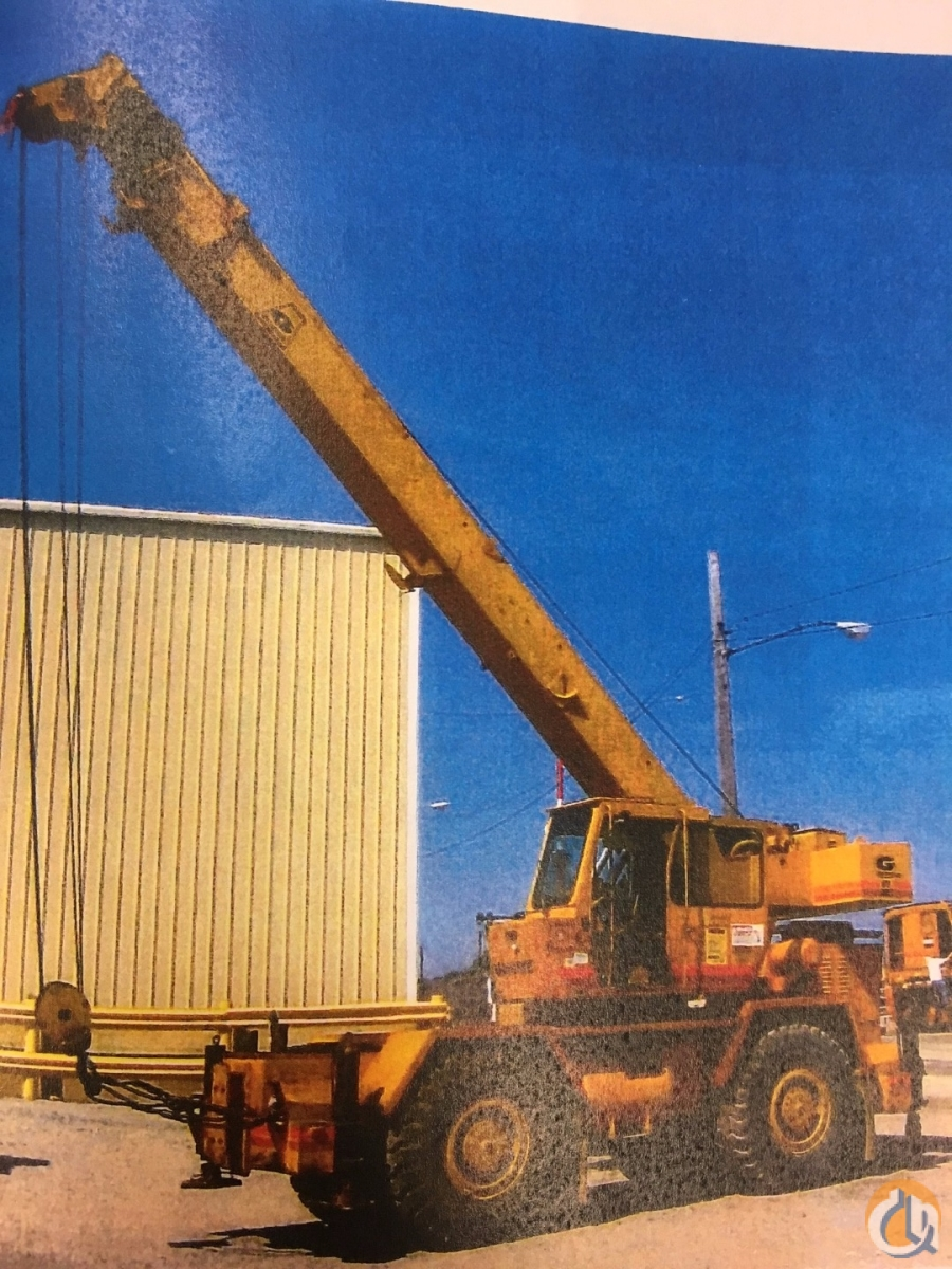 1981 Grove RT522 Crane for Sale in Cleveland Ohio on CraneNetworkcom