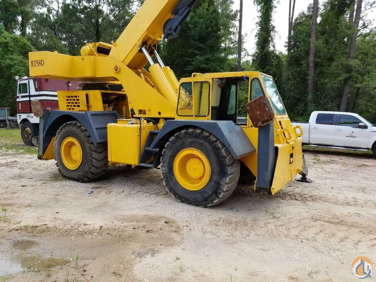 1994 Grove RT58D Crane for Sale or Rent in Mobile Alabama on CraneNetwork.com