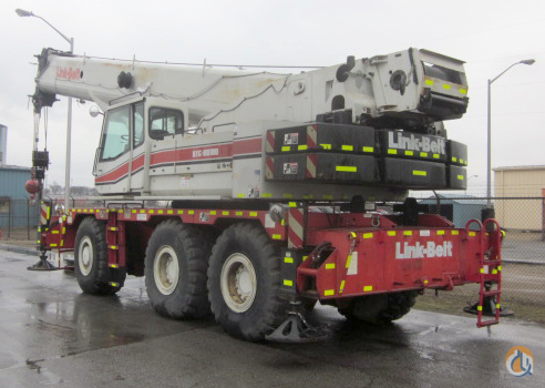 2005 Link-Belt RTC80100SII 100 Ton Rough Terrain Crane 100 Ton Rough Terrain Crane CranesList ID 320 Crane for Sale on CraneNetwork.com