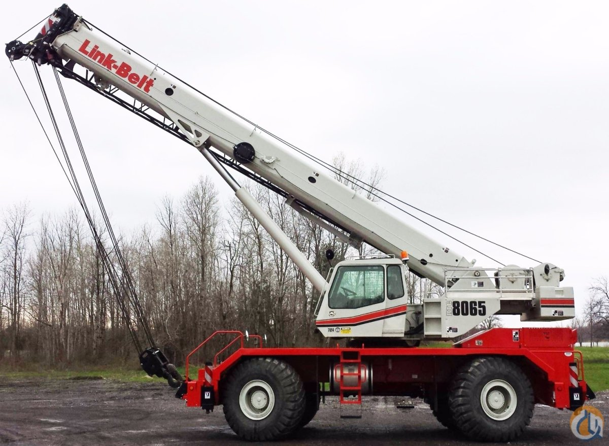 2013 Link-Belt RTC8065II Crane for Sale in Oxford Massachusetts on CraneNetwork.com