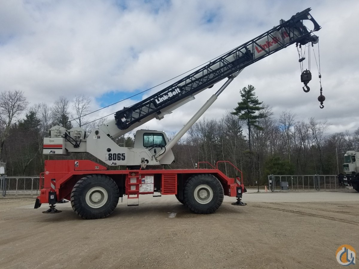 2013 Link-Belt RTC8065II Crane for Sale in Williston Vermont on CraneNetwork.com