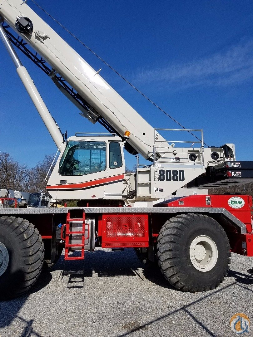 2016 Link-Belt RTC-8080II Crane for Sale in Carlisle Pennsylvania on CraneNetwork.com