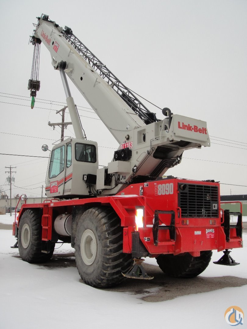 Link-Belt RTC-8090II For Sale Crane for Sale in Madison Wisconsin on CraneNetwork.com