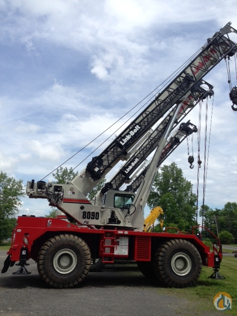 2014 Link-Belt RTC-8090 II Crane for Sale in Central Square New York on CraneNetworkcom
