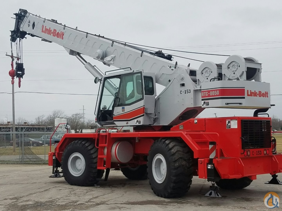 2004 LinkBelt RTC-8050 SII Crane for Sale on CraneNetwork.com