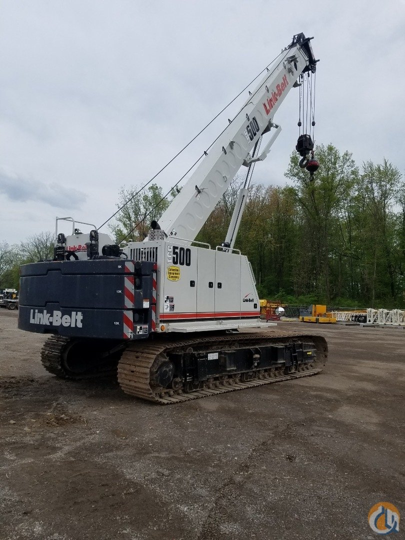 2014 Link-Belt Model TCC-500 Crane for Sale in Columbus Ohio on CraneNetwork.com