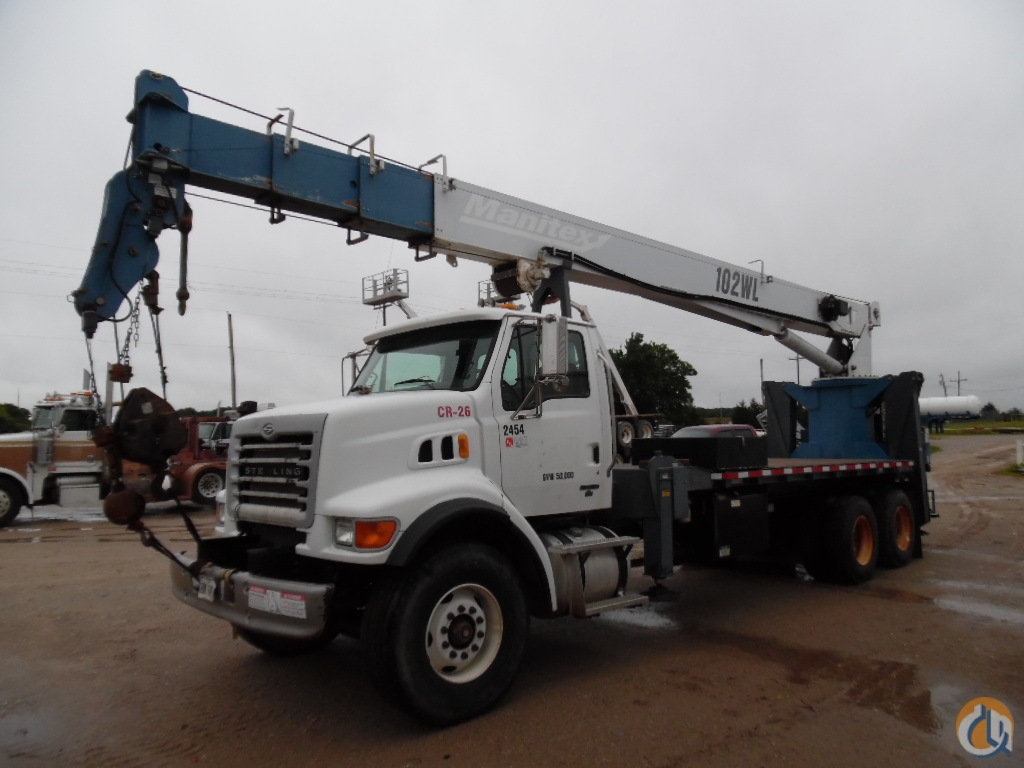 Sold 2007 30 Ton Manitex 102wl Crane For In Lone Grove