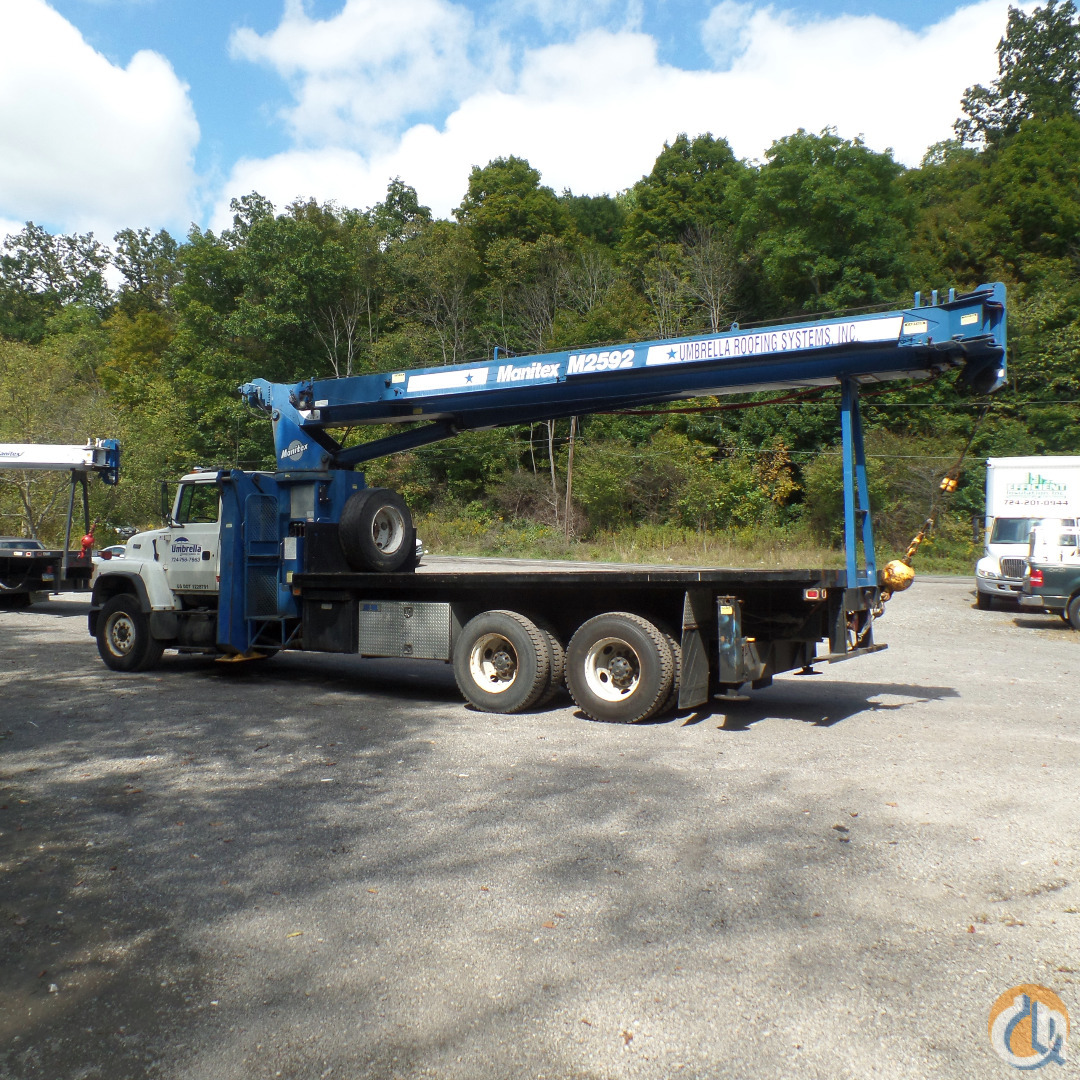 1996 Ford LNT8000  Manitex 2592 Crane Crane for Sale in Ellwood City Pennsylvania on CraneNetworkcom