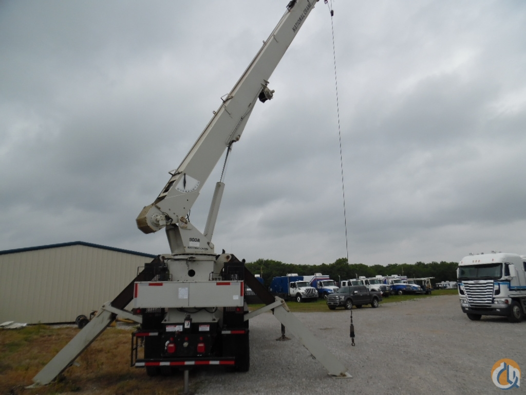 2011 National 9125 Peterbilt Chassis Crane for Sale in Lone Grove Oklahoma on CraneNetwork.com