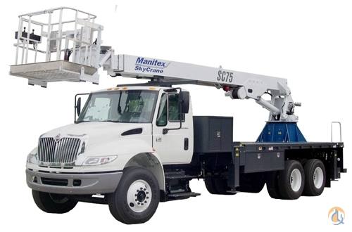 New 2018 Manitex SC75 Aerial Man Lift Crane for Sale in Houston Texas on CraneNetwork.com